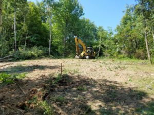 Land Clearing, Moscow PA
