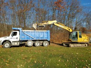 Land Grading Contractor, Drainage, Jefferson Twp