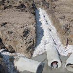 Neat ground utility work