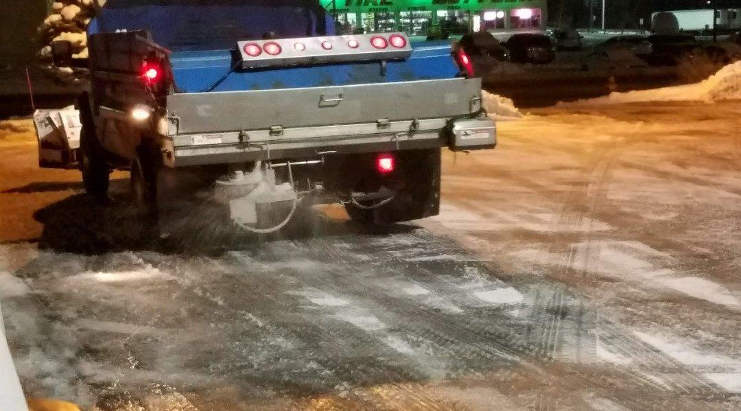 Truck Snow Removal Salt