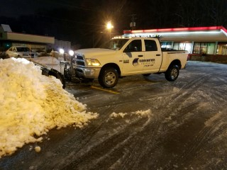 Truck Commercial Snow Removal