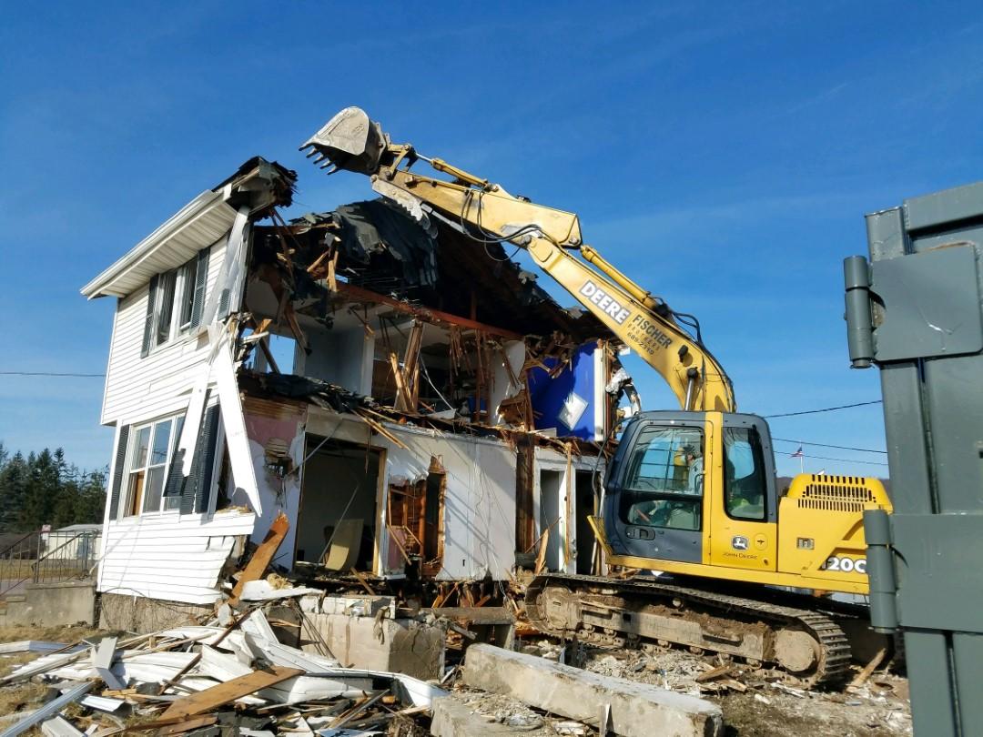 Excavation demolition