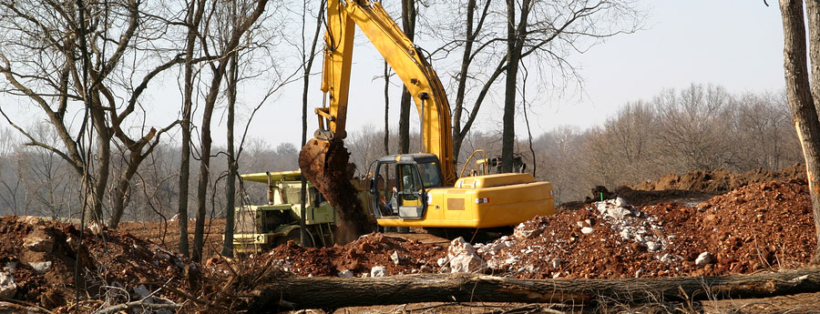 Fischer Brothers Excavating Lot Clearing