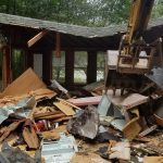 Excavator arm home demo