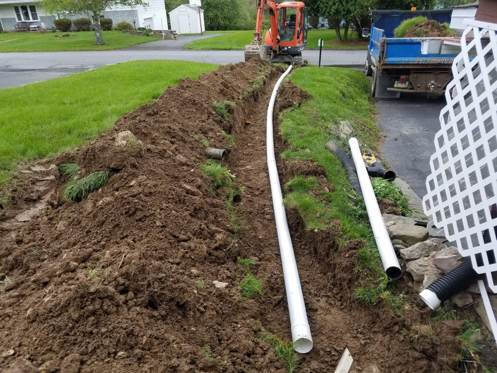 Nepa Property Drainage Solutions Fischer Brothers Excavating
